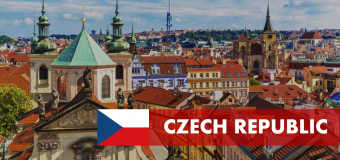 Czech Republic Government Scholarship for Students from Developing Countries 2019/2020 (Masters and Doctoral Study)