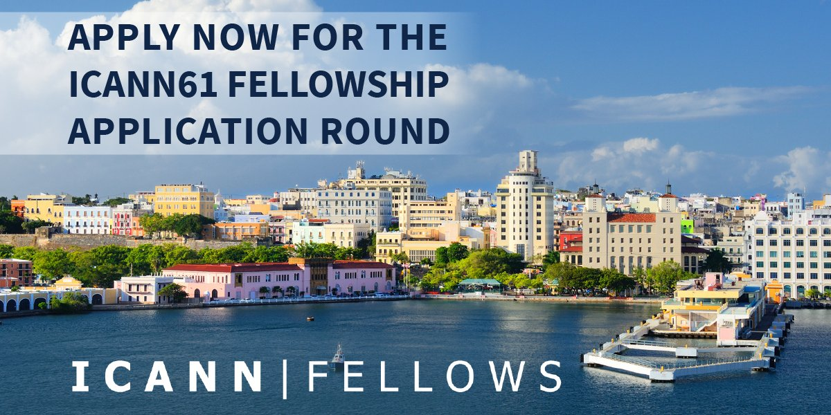 Apply for ICANN61 Fellowship 2018 to attend ICANN61 in San Juan, Puerto Rico (fully-funded)
