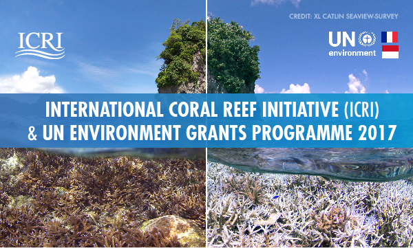 ICRI and UN Environment Grants Programme 2017 (Grants up to USD $60,000)