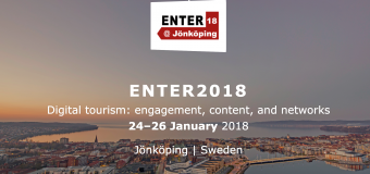 IFITT's ICT4D Scholarship to attend ENTER2018 eTourism Conference in Jönköping, Sweden