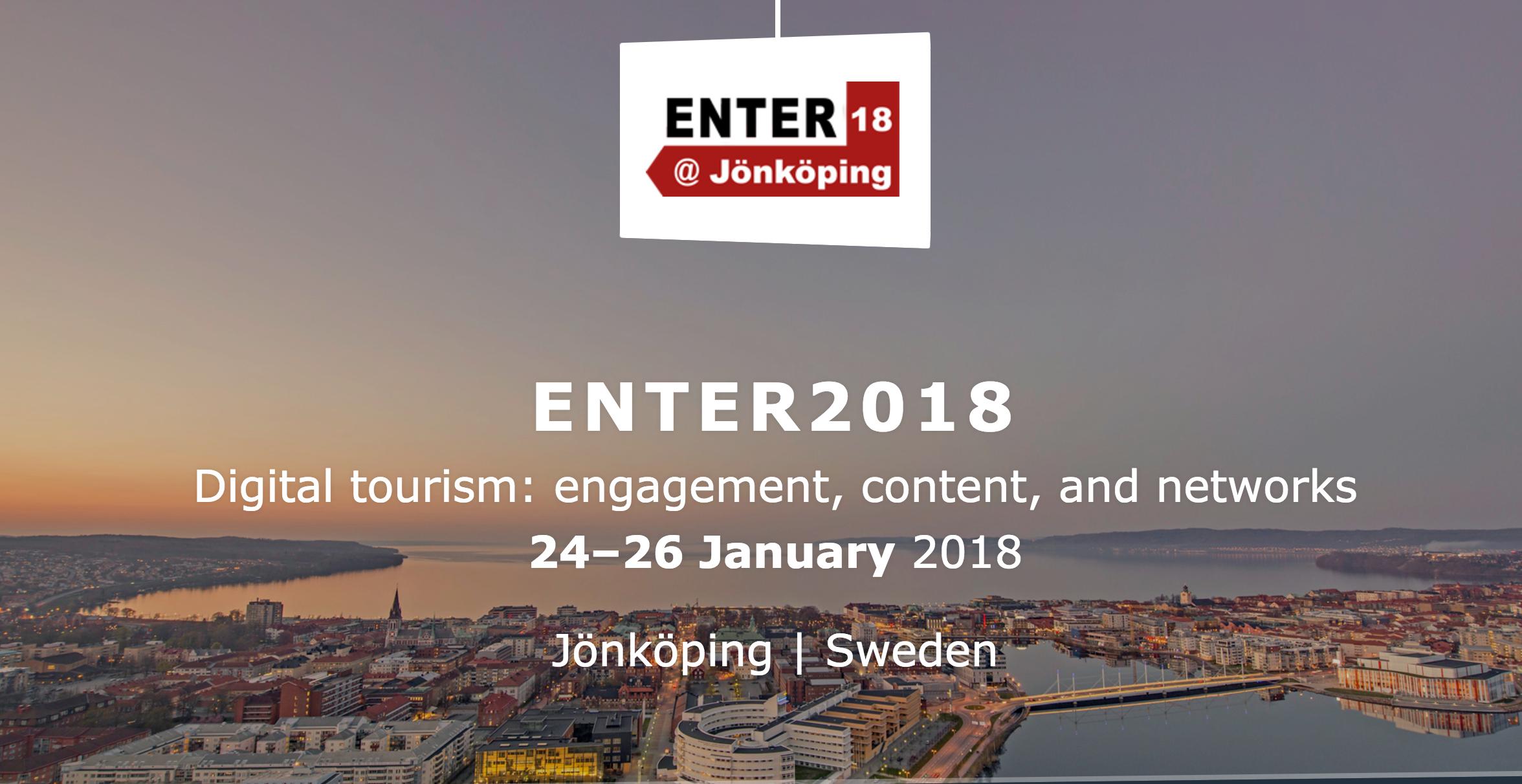 IFITT's ICT4D Scholarship to attend ENTER2018 eTourism Conference in Jönköping, Sweden