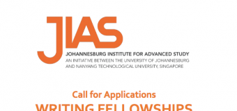 Call for Application: JIAS Writing Fellowship 2018 in South Africa (Funded)