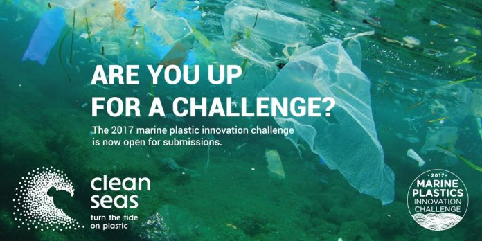 Submit Entries for the Marine Plastics Innovation Challenge 2017