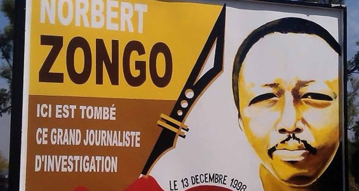 Norbert Zongo Investigative Journalism Award 2017