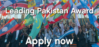 Leading Pakistan Award to attend the One Young World Summit 2017 in Bogota, Colombia