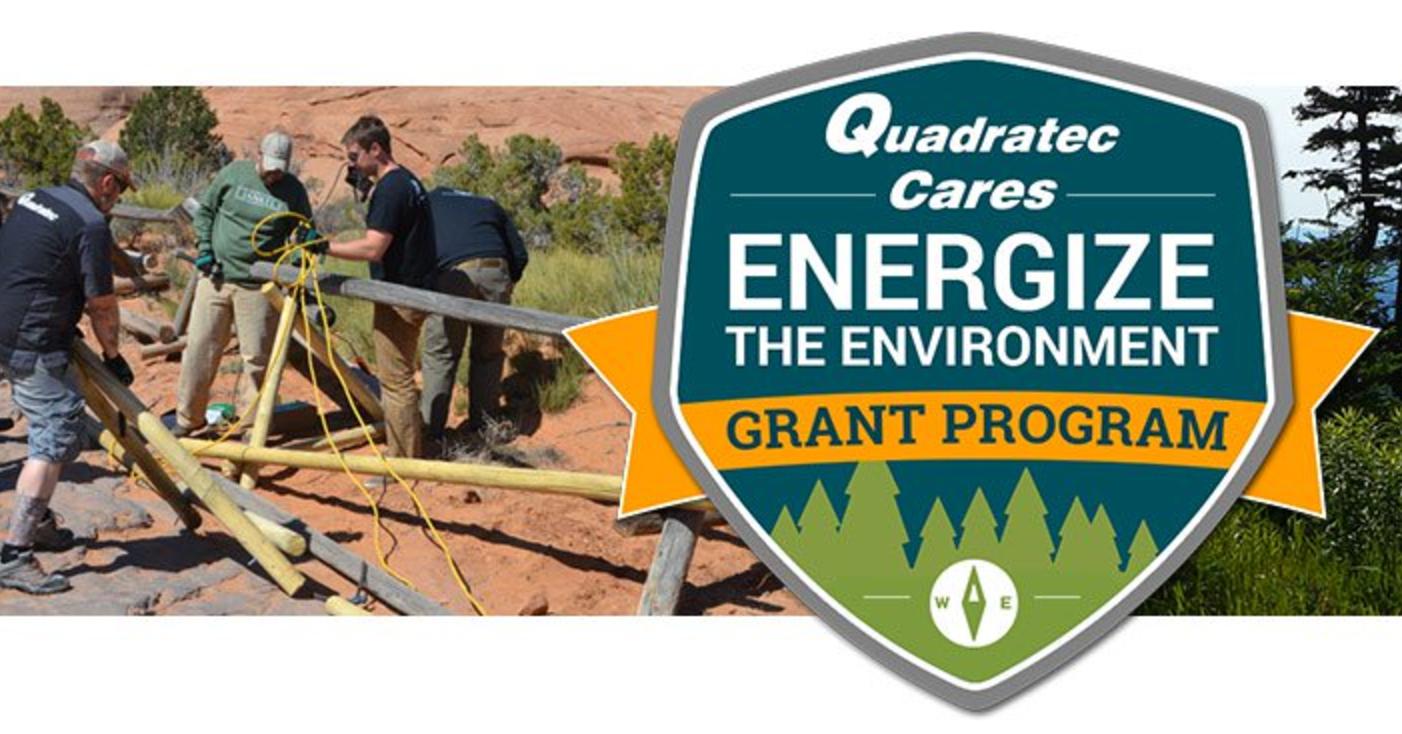 Quadratec Cares 'Energize The Environment' Grant Program 2017