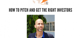 "OD Facebook Live with Richard Tanksley on ""How to Pitch and Get the Right Investors"""