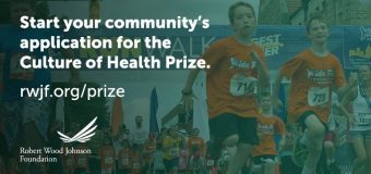 RWJF Culture of Health Prize 2018 (Winner receives $25,000 cash)