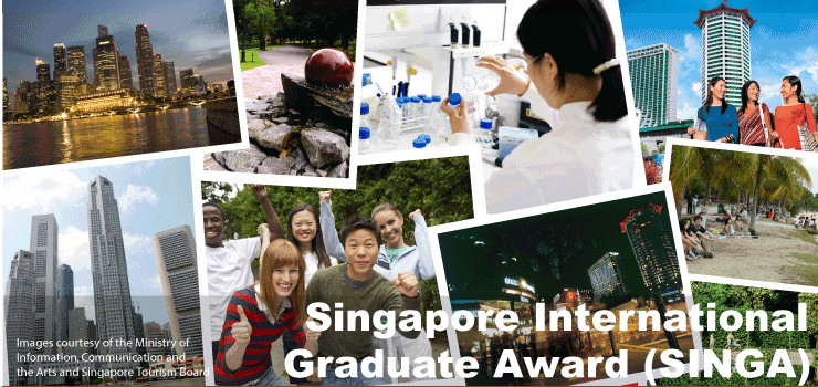Singapore International Graduate Award (SINGA) – PhD Study in Singapore 2018