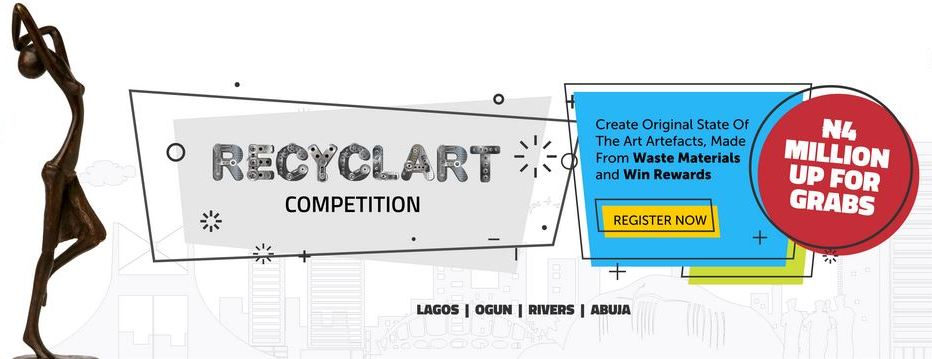 Sterling Recyclart Competition for Artists 2017 (Up to N4,000,000 for grabs)