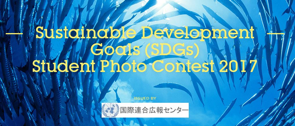Sustainable Development Goals (SDGs) Student Photo Contest 2017