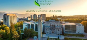 University of British Columbia Future Forests Fellowship 2017 (Up to $280,000 Grant)