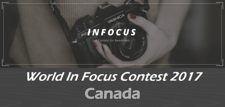 Enter the World In Focus Contest 2017 (Four Winners receive $100 each)
