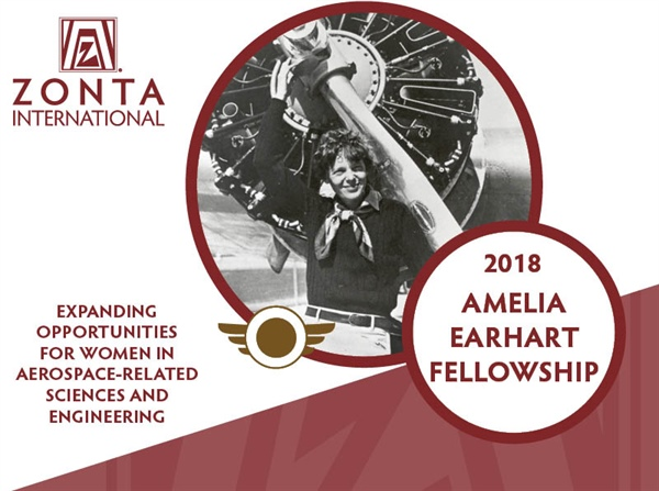 Amelia Earhart (AE) Fellowship for Women in Science & Engineering 2018