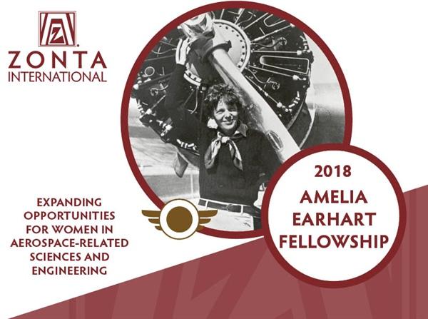 Amelia Earhart (AE) Fellowship for Women in Science & Engineering 2018