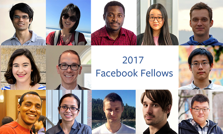 Facebook Fellowship Program and Emerging Scholar Award 2018