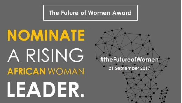 Nominate a Rising African Leader for the Future of Women Award 2017