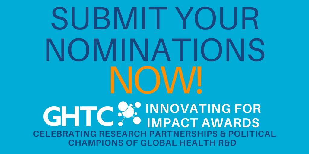 Call for Nomination: GHTC Innovating for Impact Awards 2017