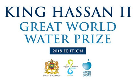 King Hassan II Great World Water Prize 2018 (Cash Prize of $100,000 USD)