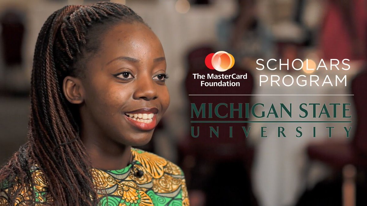 MasterCard Foundation Graduate Scholarship Program at MSU 2018 (fully-funded)