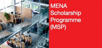 Nuffic MENA Scholarship Programme 2020 for Short Courses in The Netherlands (Fully-funded)