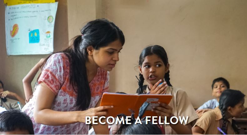 Apply for the Teach for India Fellowship Program 2018-2020 (Salary of Rs. 17,500/month)