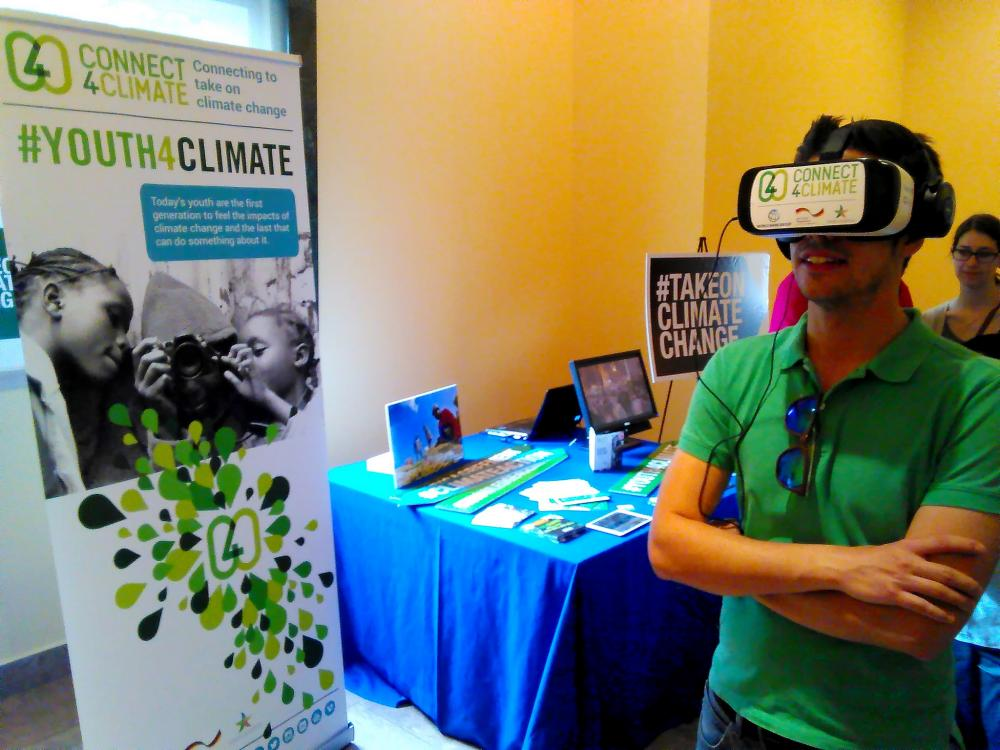 #Uniting4Climate Virtual Reality Pitch Competition for Climate Solutions 2017