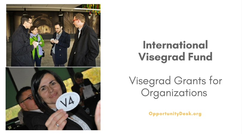 International Visegrad Fund: 2017 Visegrad Grants for Organizations Worldwide