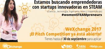 WeXchange Pitch Competition for Women in STEAM 2017