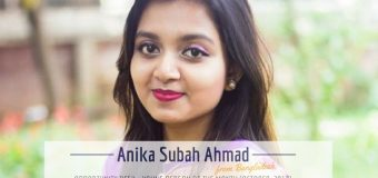Anika Subah Ahmad from Bangladesh is OD Young Person of the Month – October 2017!