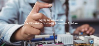 Calling European/African Startups: Apply to attend the 6th EU-Africa Business Forum in Abidjan!