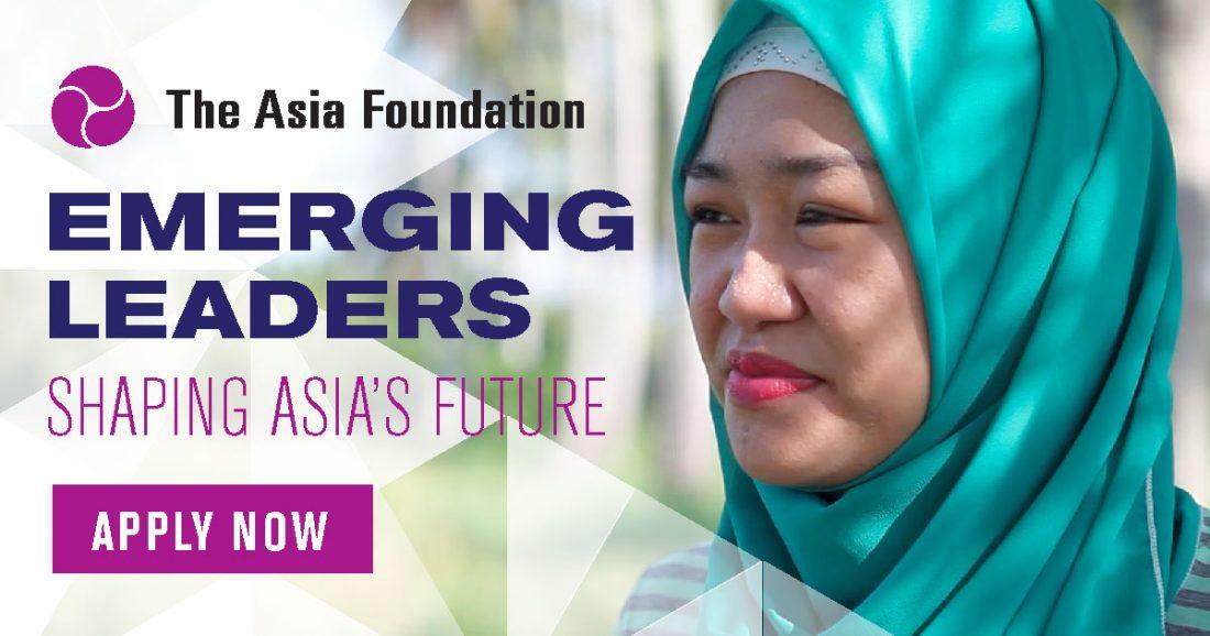Asia Foundation Development Fellows Program 2018 (Fully-funded + $5,000 Grant)