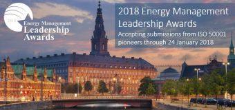 CEM Energy Management Leadership Awards 2018
