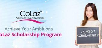 CoLaz Scholarship Program 2017 for UK Students (Winner receives £1000)