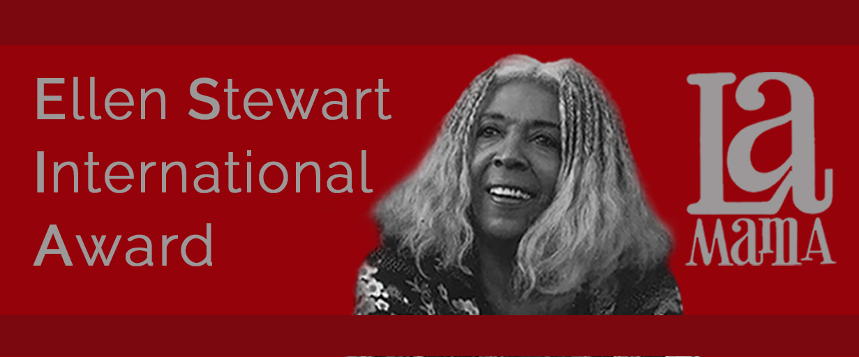 Ellen Stewart International Award 2017-2018 for Social Change Agents