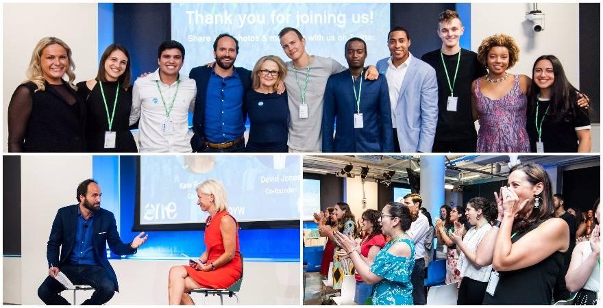 Facebook Social Entrepreneurship Award 2017 for One Young World Ambassadors