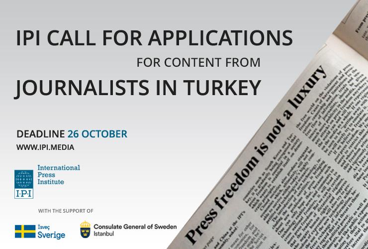 International Press Institute Journalism Micro-grants 2017 (up to €500)