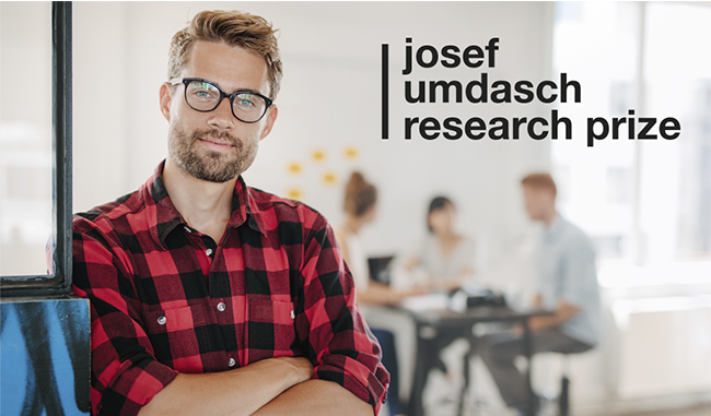 Call for Ideas: Josef Umdasch Research Prize 2019 (Win €5000 and the chance to pitch atWSA Global Congress)