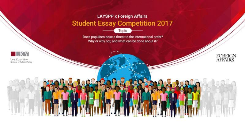 LKYSPP/Foreign Affairs Undergraduate Student Essay Competition 2017