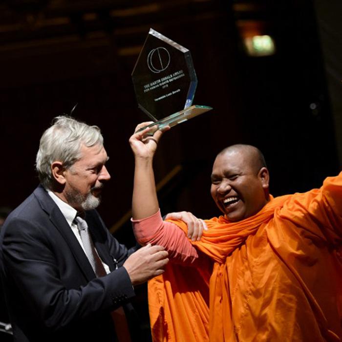 Nominate: Martin Ennals Award for Human Rights Defenders 2018