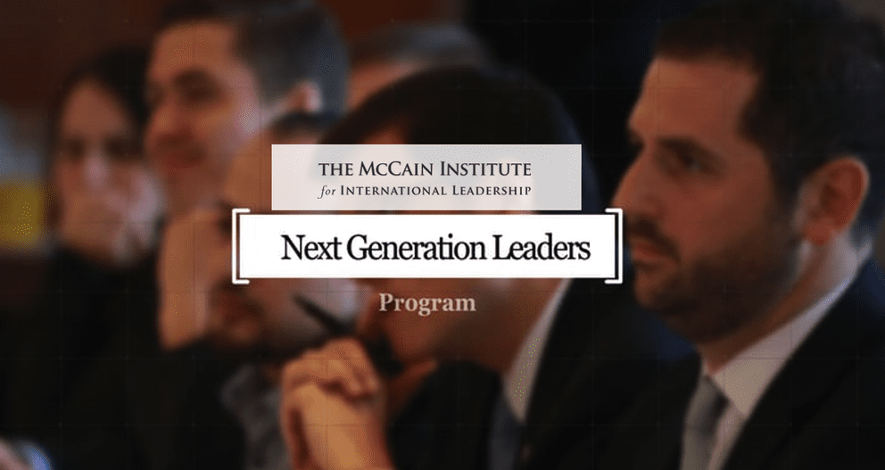 McCain Institute's Next Generation Leaders Program 2018 in United States (Fully Funded)