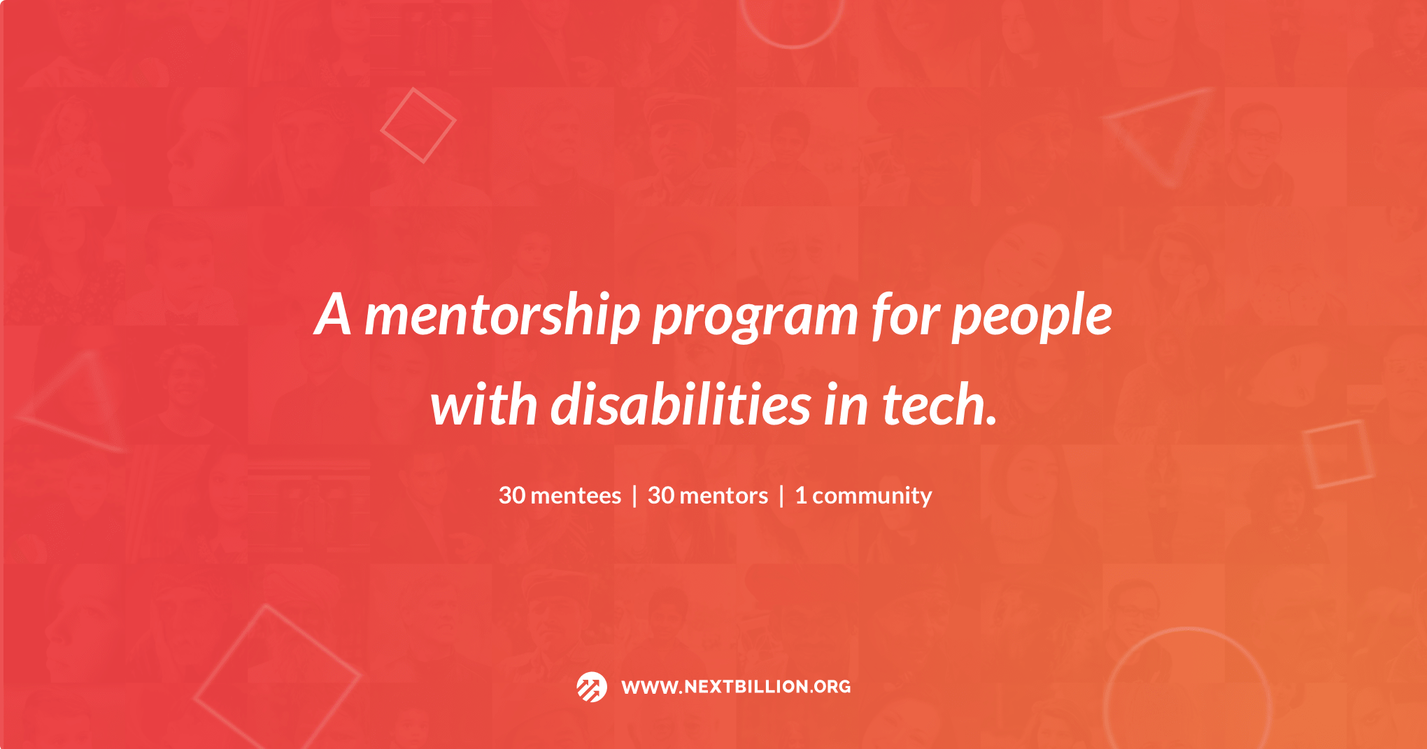 NextBillion Cohort 3 Mentorship Program for Students with Disabilities based in California!