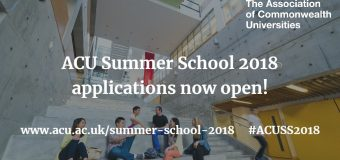 Apply to attend ACU Summer School in Hong Kong 2018 (Bursaries Available)