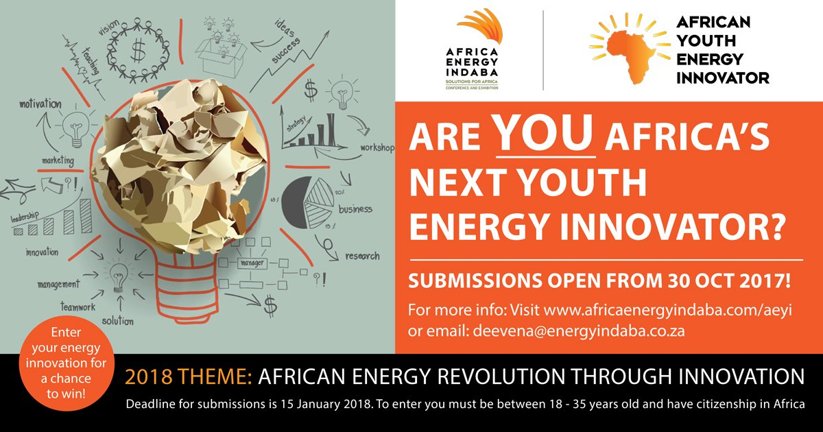 African Youth Energy Innovator Showcase 2018