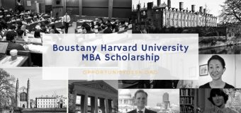 Boustany Foundation Harvard University MBA Scholarship 2019
