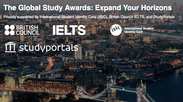 Global Study Awards 2018 – Win £10,000 to Expand Your Horizon and Study Abroad!