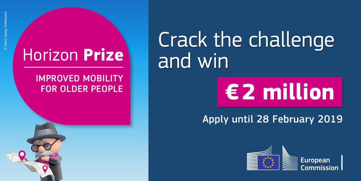 Horizon Prize for Social Innovation in Europe 2019 (Up to €2million in Prizes)