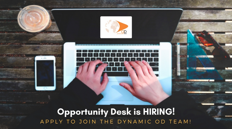 Opportunity Desk is Hiring Editorial Assistants (Nigerians Only)