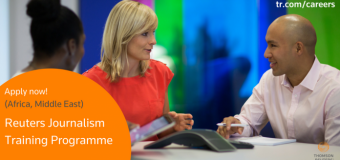 Reuters Journalism Training Programme for Middle East & Africa 2018