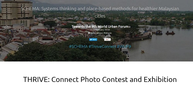 SCHEMA/Think City THRIVE: Connect Photo Contest & Exhibition 2017